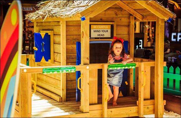 This summer, join Dubai Marina Mall's indoor beach party
