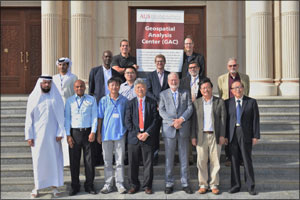 International researchers attend first workshop held at AUS Geospatial Analysis Center (GAC)