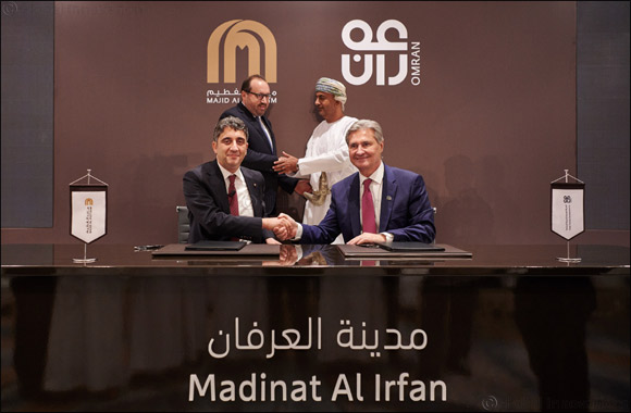 OMRAN and Majid Al Futtaim Partner to Develop  Over OMR 5 Billion Project - Madinat Al Irfan The Largest Development in Oman