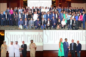 Dubai Police and Apparel Group Receive Special Recognition by Superbrands