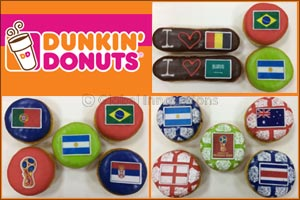 This season, support your favourite football team with Dunkin' Donuts
