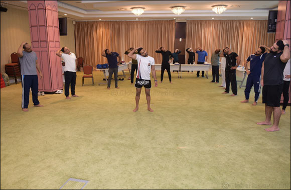 Dubai Customs organizes a fitness and martial arts workshop
