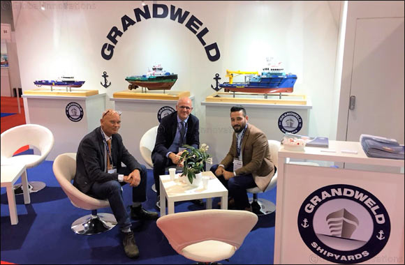 Grandweld reinforces the value of 'Made in UAE' at one of the largest global maritime conventions and exhibitions