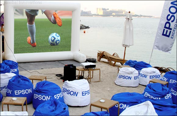 Epson powers big screen experience at Breeze Beach Grill