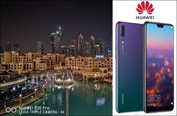 The #1 trick to capturing the best photo at night? The trick is the AI camera in HUAWEI P20 Pro