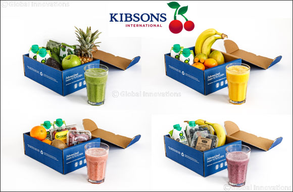 Kibsons Launch Nutritious & Delicious Smoothie Boxes