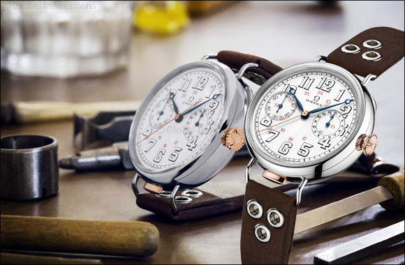 """History is reborn with the """"First OMEGA Wrist-Chronograph Limited Edition"""""""