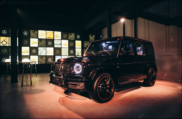 The most anticipated launch of the year - The new Mercedes-Benz G-Class arrives in style to the Middle East