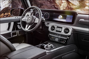 The most anticipated launch of the year - The new Mercedes-Benz G-Class arrives in style to the Midd ...
