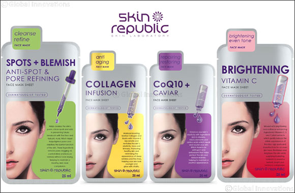 Treat Your Skin this Summer with  Skin Republic's Refreshing Face Masks