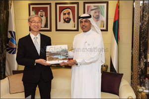 Director of Dubai Customs discusses fostering business with South Korean Consul General