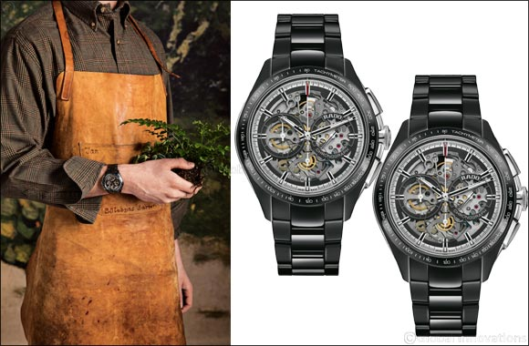 The Rado HyperChrome Skeleton Automatic Chronograph Limited Edition