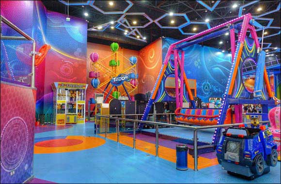 Tridom, Ras Al Khaimah's first indoor adventure park, opens its doors in Manar Mall