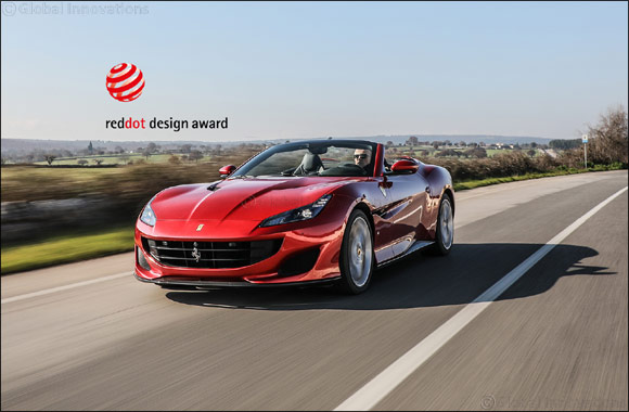 "Ferrari takes the ""Red Dot: Best of the Best"" design award for the fourth year running"