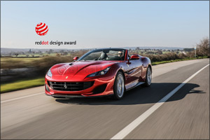 Ferrari takes the �Red Dot: Best of the Best� design award for the fourth year running