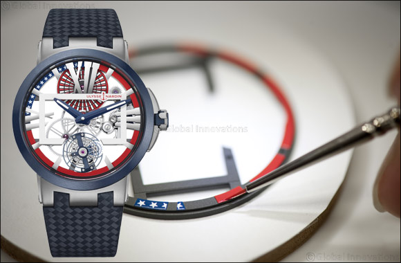 Ulysse Nardin Salutes Us Navy With Limited Edition  Executive Skeleton Tourbillon