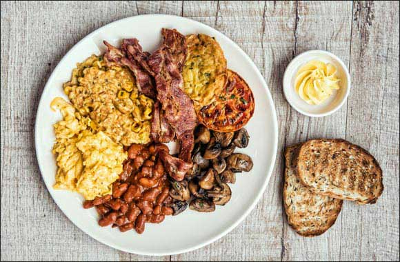 Enjoy an all-day breakfast at Sophie's Café