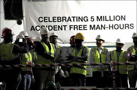 Dubai Creek Harbour Project Celebrates 5 Million Man Hours with Zero Lost Time Accidents