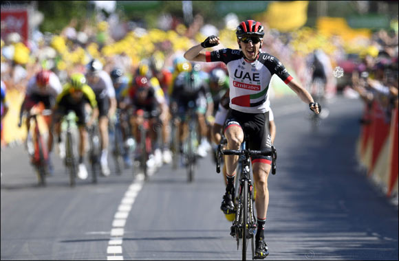 Martin Is the Man of the Moment as He Claims UAE Team Emirates' First Ever Tour De France Stage Win