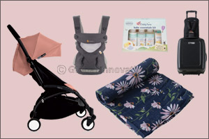 Your Baby and Child Travel Essentials Covered with Five Little Ducks