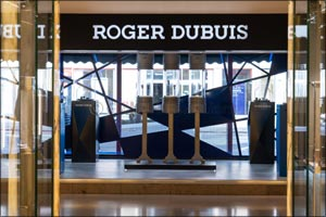 Roger Dubuis and Lamborghini Squadra Corse thrill visitors with enthralling Harrods display