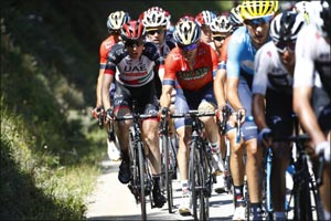 Martin Retains Top 10 in General Classification as Late Puncture Hampers Stage 14