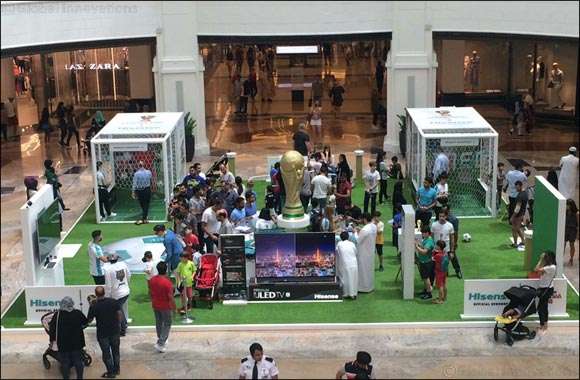 Official Sponsor of the 2018 FIFA World Cup Russia™, Hisense, gets the game on the streets