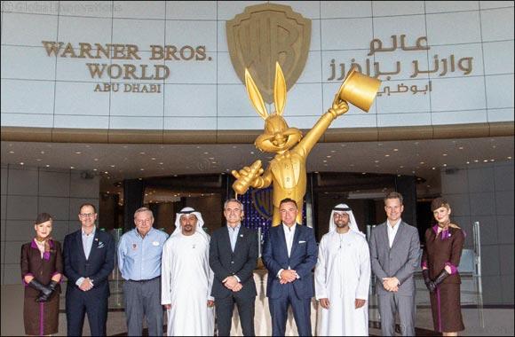 Warner Bros. World™ Abu Dhabi Signs Airline Partnership With Etihad Airways
