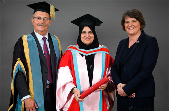 Leading UAE businesswoman awarded doctorate by Queen's University Belfast