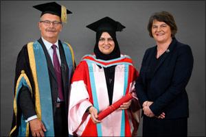 Leading UAE businesswoman awarded doctorate by Queen's University Belfast