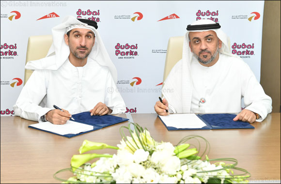 Dubai Parks and Resorts and Rta's Dubai Taxi Corporation Launch a Joint Campaign to Enrich Dubai's Visitors' Travel Itinerary