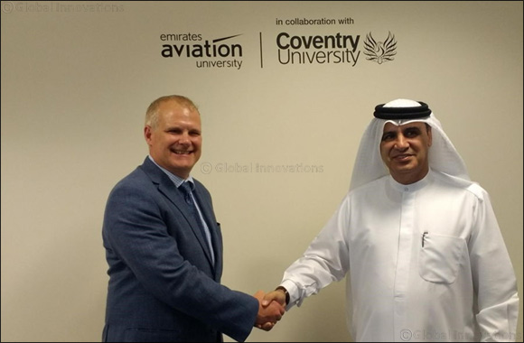 Emirates Aviation University launches a research centre in collaboration with Coventry University