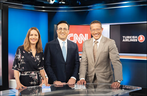 Turkish Airlines embarks on exclusive sponsorship with CNN in global brand campaign.