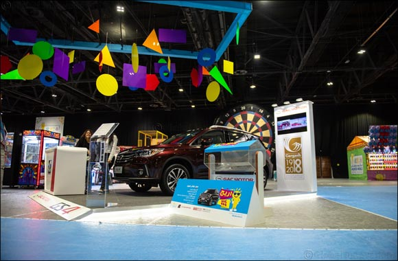 Don't Miss Your Chance to Win a Gs8 Car at Modhesh World With Gargash Motors