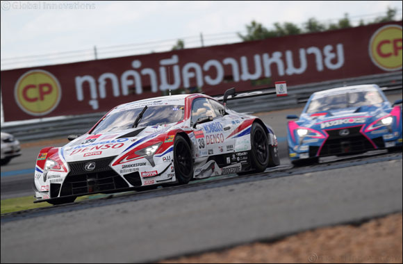 Lexus sweeps the board in fourth round of 2018 AUTOBACS SUPER GT 500 series