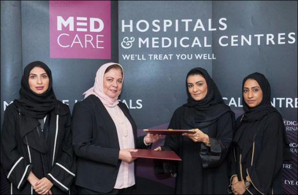 Sharjah Social Services Department and Medcare Hospital Sharjah sign agreement to benefit health insurance holders