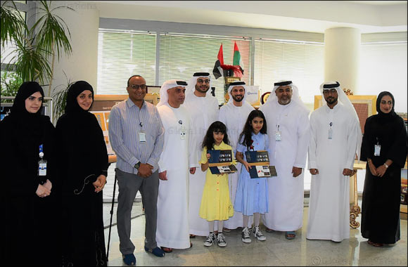 Emirates Post Group gifts the first public issuance of the UAE-China commemorative stamp to young Philatelists