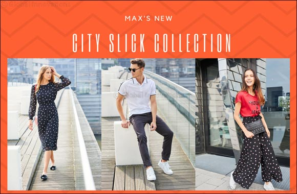 Embrace your street style with Max's new City Slick Collection