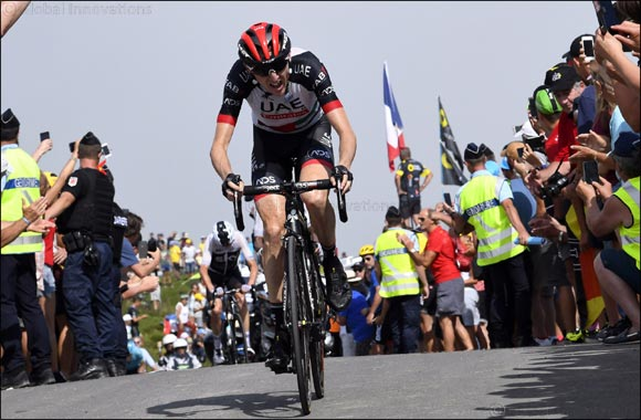 Man of the Moment Dan Martin Back in Action for UAE Team Emirates