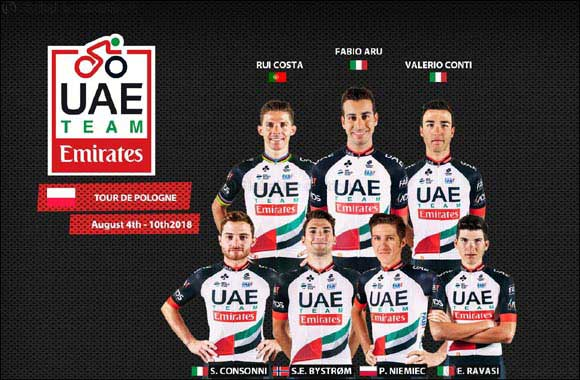 Aru Continues to Build Form as He Targets the Tour of Poland With UAE Team Emirates
