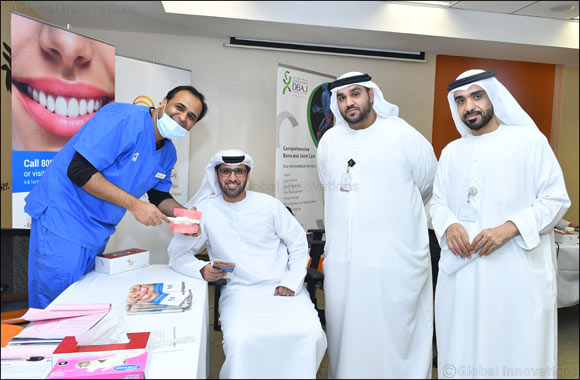 wasl organises a health campaign in collaboration with Mohammed bin Rashid University of Medicine and Health Sciences