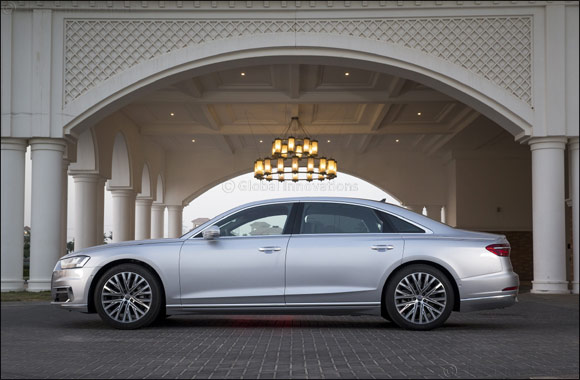 "Audi Abu Dhabi leads regional sales for ""World Luxury Car 2018"" – the all-new Audi A8"