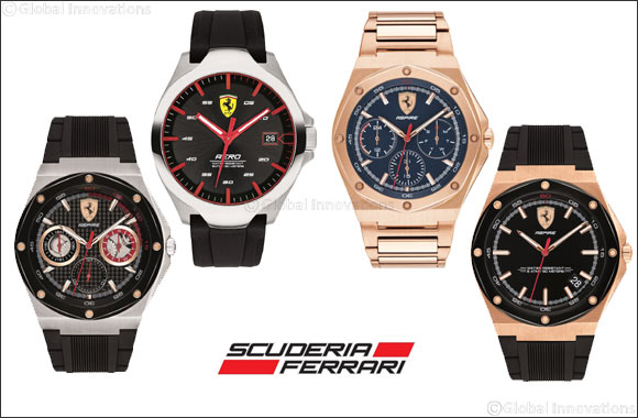 Scuderia Ferrari presents ASPIRE collection