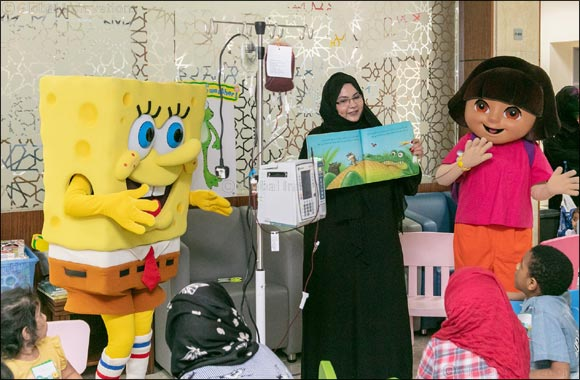 Department of Culture and Tourism – Abu Dhabi brings excitement to children at Sheikh Khalifa Medical City