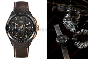 The new Rado HyperChrome Chronograph in bronze and high-tech ceramic