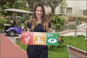 The Sustainable City names Dolores Shelleh as Brand Ambassador on International Youth Day