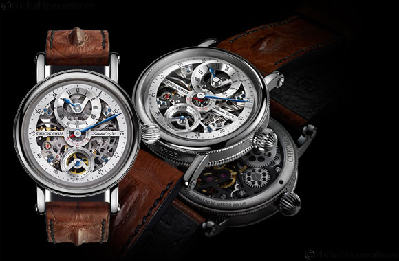 Chronoswiss Limited Edition of Flying Grand Regulator Skeleton