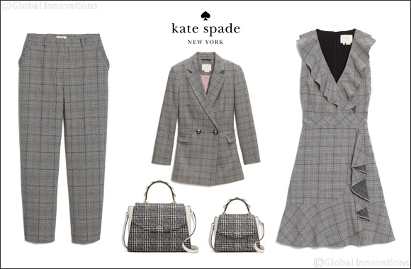 Trend Alert! Clueless About Plaid? kate spade Found Fresh Ways to Showcase the Gorgeous Print