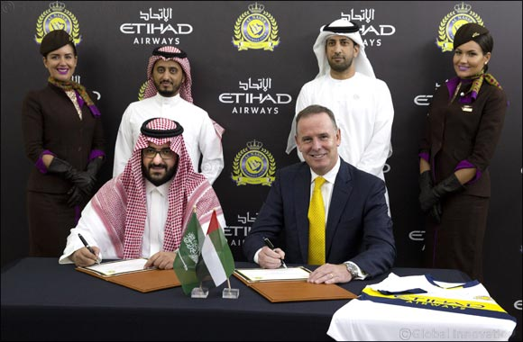 Etihad Airways and Al Nassr FC Announce Partnership
