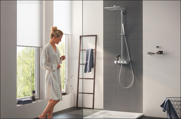 The Right Mix for Every Shower Experience: Thanks to GROHE's New Shower System Euphoria SmartControl
